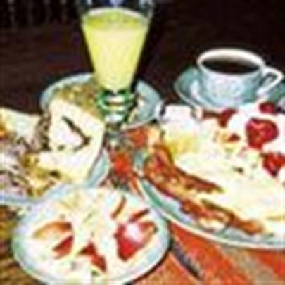 Yeni yıl sabahı kahvaltı keyfi